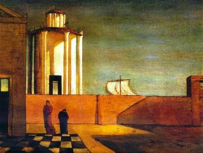 De Chirico, L'enigma dell'arrivo